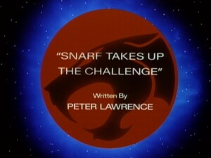 Snarf Takes Up the Challenge