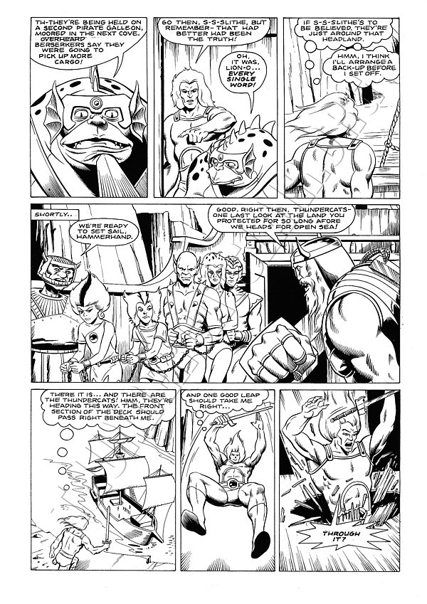 Marvel UK - ThunderCats Issue 11 Page 10