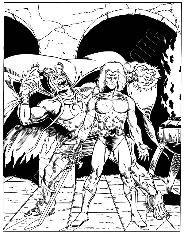 Marvel UK - ThunderCats Issue 17 cover