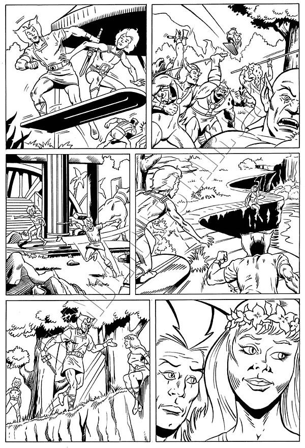 Marvel UK - ThunderCats Issue 81 Page 2