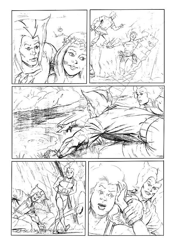 Marvel UK - ThunderCats Issue 81 Page 3 (pencils)