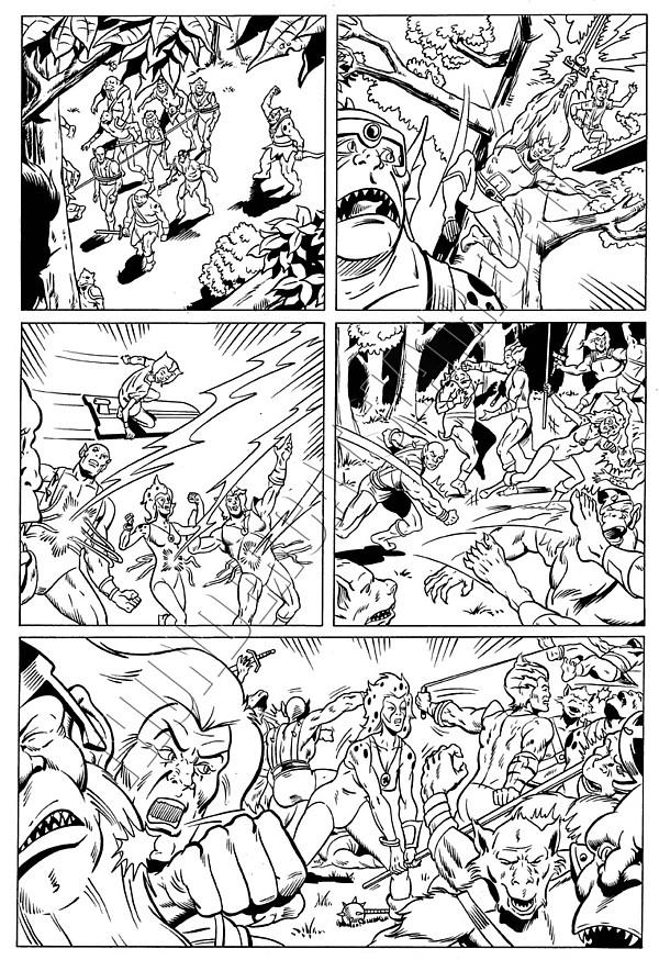 Marvel UK - ThunderCats Issue 81 Page 5