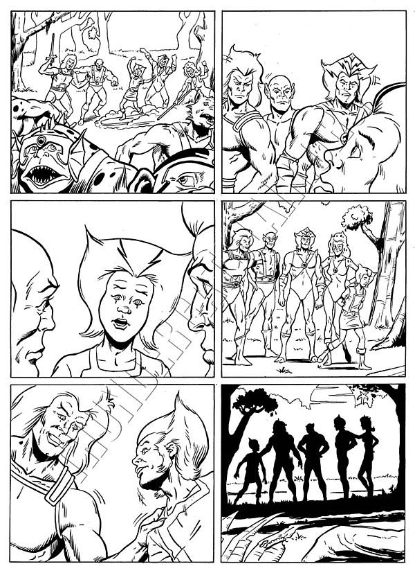 Marvel UK - ThunderCats Issue 81 Page 6