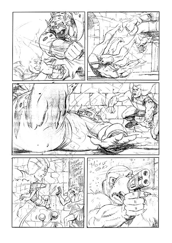 Marvel UK - ThunderCats Issue 86 Page 3