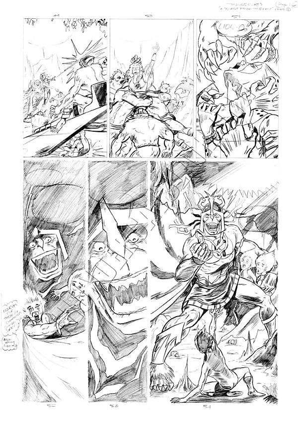 Marvel UK - Unused Pencils - Story page 10