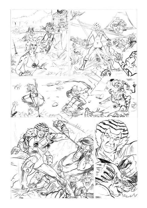 Marvel UK - Unused Pencils - Story page 2