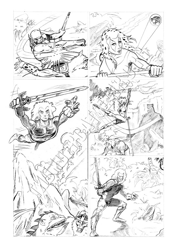 Marvel UK - Unused Pencils - Story page 3