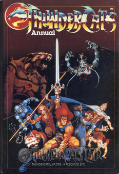 ThunderCats - UK Annual 1987