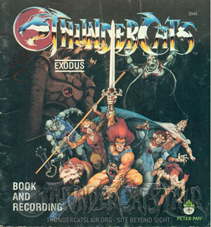 ThunderCats - Exodus Book and Audio Recording
