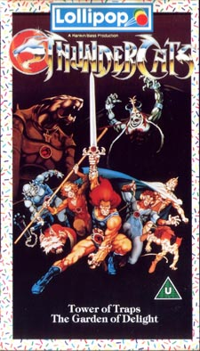"""ThunderCats - UK Videos - Lollipop Volume 1 """"The Tower Of Traps"""" and """"The Garden Of Delights"""""""