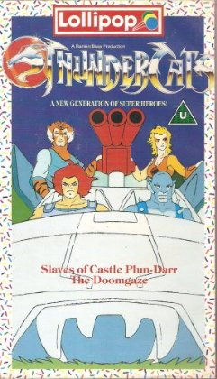 "ThunderCats - UK Videos - Lollipop Volume 2 ""The Slaves of Castle Plun-Darr"" and ""The Doomgaze"""