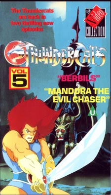 ThunderCats - UK Videos - Volume 5 Berbils/Mandora The Evil Chaser