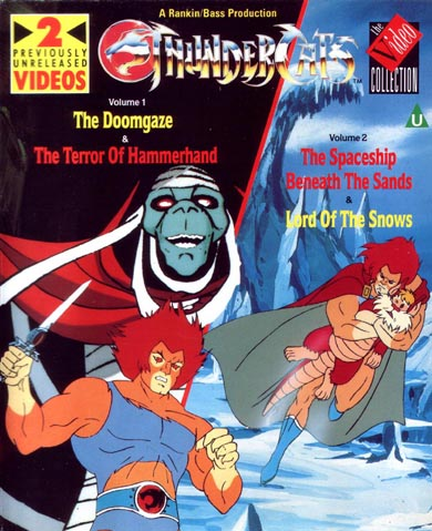 ThunderCats - UK Videos - Volume 6/7 The Doomgaze/The Terror of Hammerhand/The Spaceship Beneath The Sands/Lord of the Snows