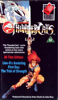 ThunderCats - UK Videos - All That Glitters and The Trial Of Strength