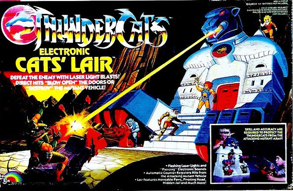 ThunderCats LJN - Cats Lair Playset Box