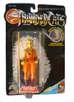 LJN ThunderCats Cheetara with Wilykit - Mint On Card