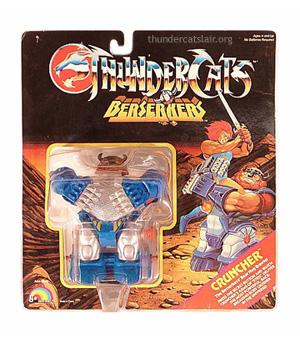 LJN ThunderCats Cruncher - Mint On Card