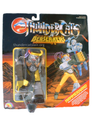 LJN ThunderCats Hammerhand - Mint On Card