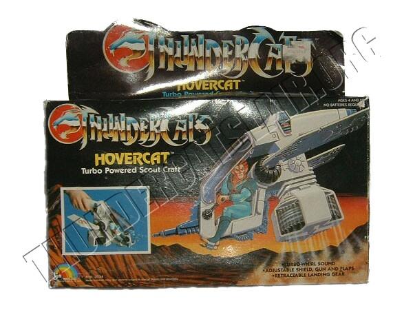 ThunderCats LJN toyline - Boxed Hovercat