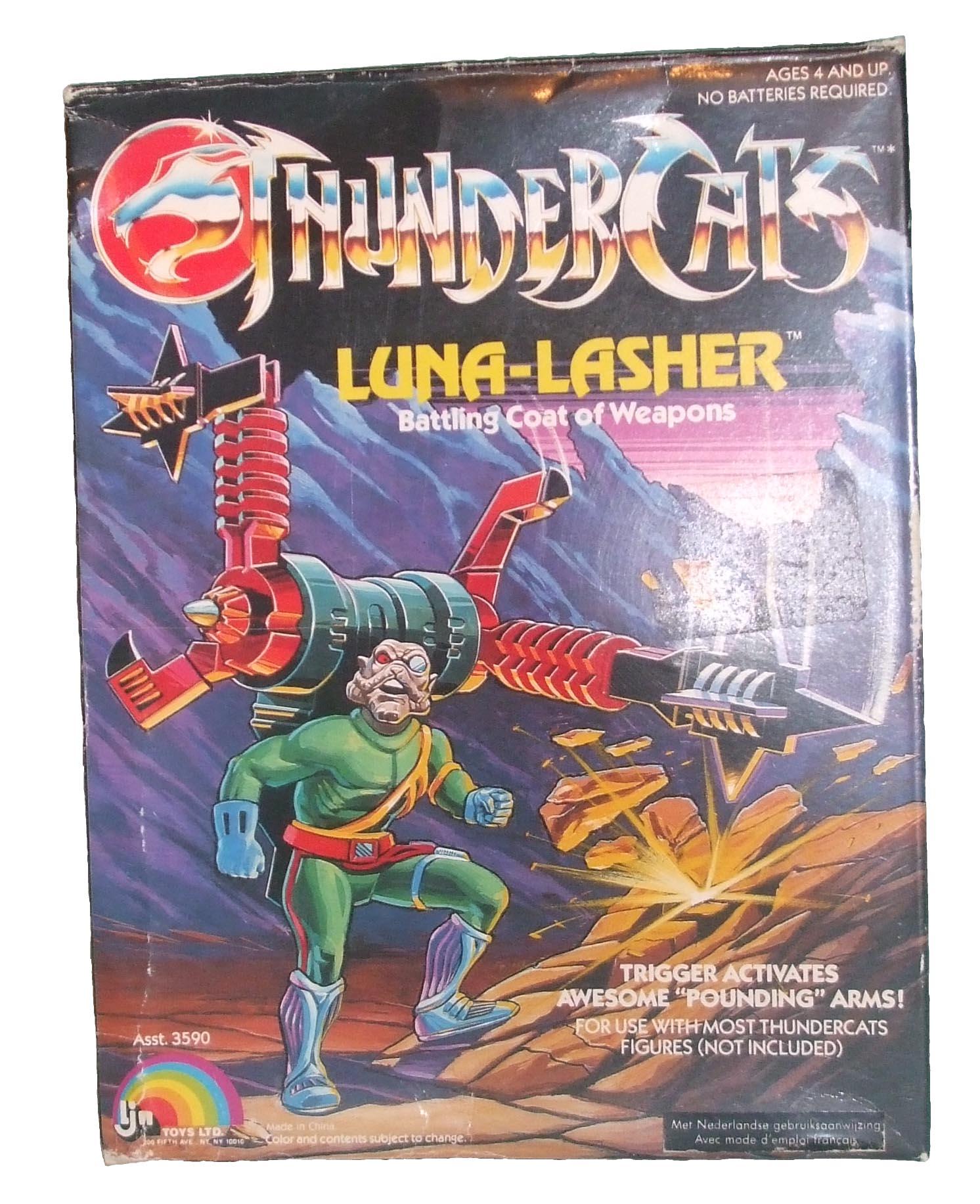 ThunderCats LJN toyline - Boxed Luna-Lasher