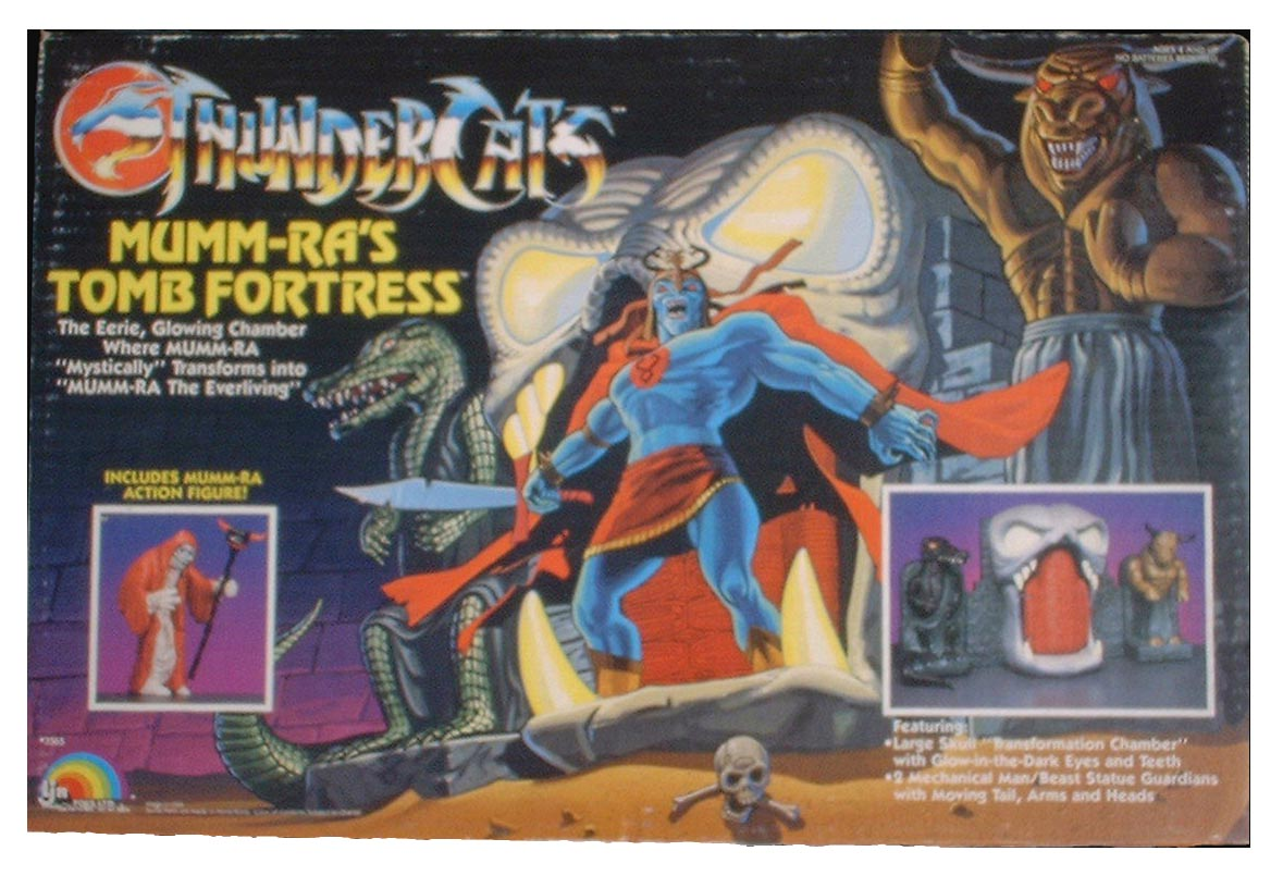 ThunderCats LJN - Mumm-Ra's Tomb Playset Box