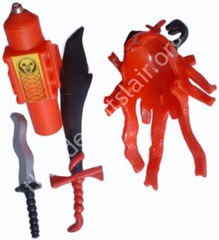 LJN ThunderCats - Mumm-Ra's Accessories