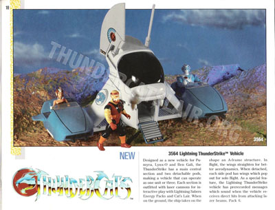 LJN ThunderCats Prototypes -Thunderstrike