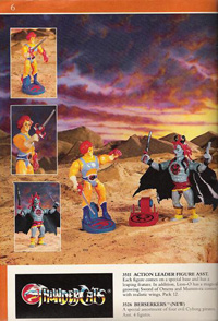 LJN ThunderCats Prototypes -Mumm-Ra with yellow dagger