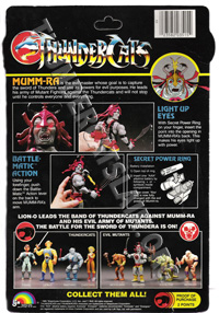 LJN ThunderCats Prototypes -Monkian (alternate colored weapon