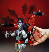 LJN ThunderCats Prototypes - Mumm-Ra with purple body