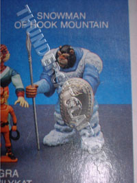 LJN ThunderCats Prototypes -Snowman