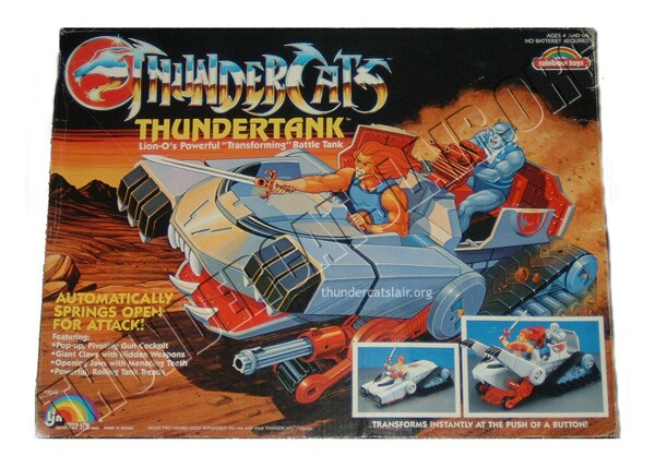 ThunderCats LJN toyline - Boxed Thundertank