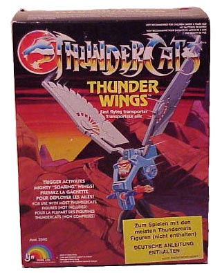 ThunderCats LJN toyline - Boxed Thunderwings