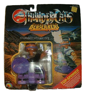 LJN ThunderCats Top Spinner - Mint On Card