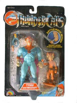 LJN ThunderCats Lion-O - Orange Haired Variant - Mint On Card