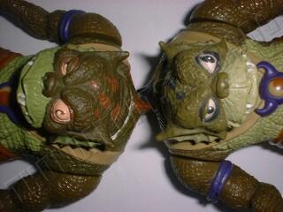 ThunderCats figures - S-S-Slithe figure eye colour variation