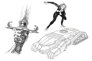 ThunderCats - Animation Art - Production Materials