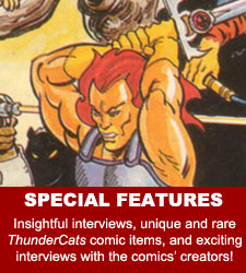 ThunderCats comics - Special Features