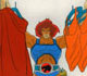 ThunderCats - Animation Art - Lion-O in Cheetara's Closet