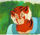 ThunderCats - Animation Art - Tygra Forest Shot