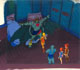 ThunderCats - Animation Art - Mumm-Ra in Kittens Room