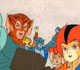 ThunderCats - Animation Art - Group Shot Episode End