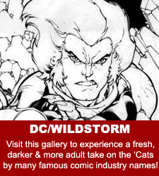 ThunderCats - Original Comic Art Gallery - DC/Wildstorm