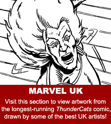ThunderCats - Original Comic Art Gallery - Marvel UK