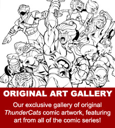 ThunderCats comics - Original Comic Art Gallery