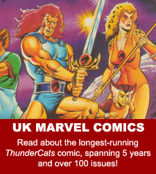 ThunderCats comics - Marvel UK