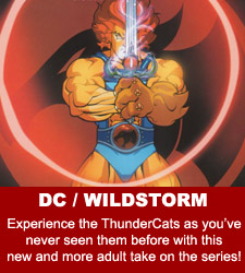 ThunderCats comics - DC/Wildstorm