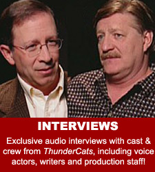 ThunderCats - Exclusive Interviews