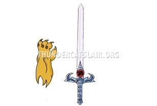 ThunderCats Encyclopedia - Sword of Omens and Claw Shield