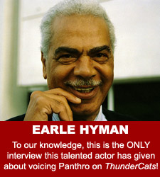 ThunderCats - Earle Hyman audio interview